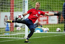 England's Joe Hart - Mandatory by-line: Matt McNulty/JMP - 29/08/2017 - FOOTBALL - St George's Park National Football Centre - Burton-upon-Trent, England - England Training and Press Conference