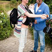 NLD/Amsterdam/20160922 - Lifestyle Event 2016 Lief, Lottie Hellingman en zoon Minke