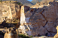 Ruins of the Ayyubids Small Palace in the citadel of ancient Hasankeyf overlooking the Tigris River. Turkey 16 .<br /> <br /> If you prefer to buy from our ALAMY PHOTO LIBRARY  Collection visit : https://www.alamy.com/portfolio/paul-williams-funkystock/hasankeyf-turkey.html<br /> <br /> Visit our PHOTO COLLECTIONS OF TURKEY HISTOIC PLACES for more photos to download or buy as wall art prints https://funkystock.photoshelter.com/gallery-collection/Pictures-of-Turkey-Turkey-Photos-Images-Fotos/C0000U.hJWkZxAbg