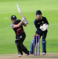 James Hildreth of Somerset in action.  - Mandatory by-line: Alex Davidson/JMP - 29/08/2016 - CRICKET - Edgbaston - Birmingham, United Kingdom - Warwickshire v Somerset - Royal London One Day Cup semi final
