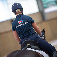 Para Dressage Media Day - Team GBR - World Equestrian Games 2018