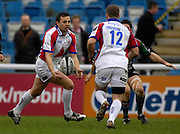 Twickenham, GREAT BRITAIN, Bristol fly half Jason STRANGE, during the Guinness Premieship match, NEC Harlequins vs Bristol Rugby, at the Twickenham Stoop Stadium, England, on Sat 24.02.2007  [Photo, Peter Spurrier/Intersport-images].....