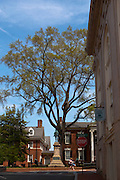 Court Square, Downtown Charlottesville Virginia.