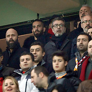 Arda Turan (B) during their Turkish superleague soccer derby match Galatasaray between Trabzonspor at the AliSamiYen spor kompleksi TT Arena in Istanbul Turkey on Sunday, 22 December 2013. Photo by TURKPIX