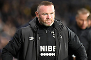 Derby County manager Wayne Rooney during the EFL Sky Bet Championship match between West Bromwich Albion and Derby County at The Hawthorns, West Bromwich, England on 14 September 2021.