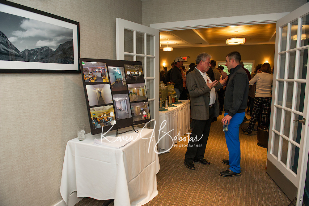 Laconia Country Club reception in their newly renovated bar and dining room.  Karen Bobotas for the Laconia Daily Sun