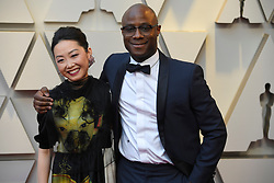 February 24, 2019 - Los Angeles, California, U.S - BARRY JENKINS AND GUEST during red carpet arrivals for the 91st Academy Awards, presented by the Academy of Motion Picture Arts and Sciences (AMPAS), at the Dolby Theatre in Hollywood. (Credit Image: © Kevin Sullivan via ZUMA Wire)