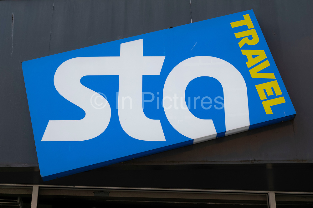 Sign for the brand STA Travel on 24th March 2021 in Birmingham, United Kingdom. This travel agency entered administration and closed in 2020.
