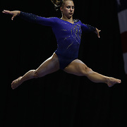 Brenna Dowell, Odessa, Missouri, in action during the Senior Women Competition at The 2013 P&G Gymnastics Championships, USA Gymnastics' National Championships at the XL, Centre, Hartford, Connecticut, USA. 17th August 2013. Photo Tim Clayton