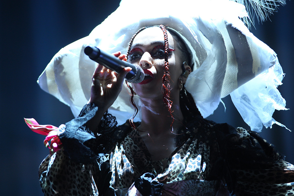 FKA Twigs performs at Camp Flog Gnaw 2019 in Los Angeles, CA.