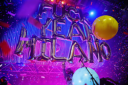 American iconic band Flaming Lips was captured live onstage in Milano's Alcatraz club. 14 Nov 2018 Pictured: Wayne Coyne. Photo credit: Bruno Marzi / MEGA TheMegaAgency.com +1 888 505 6342