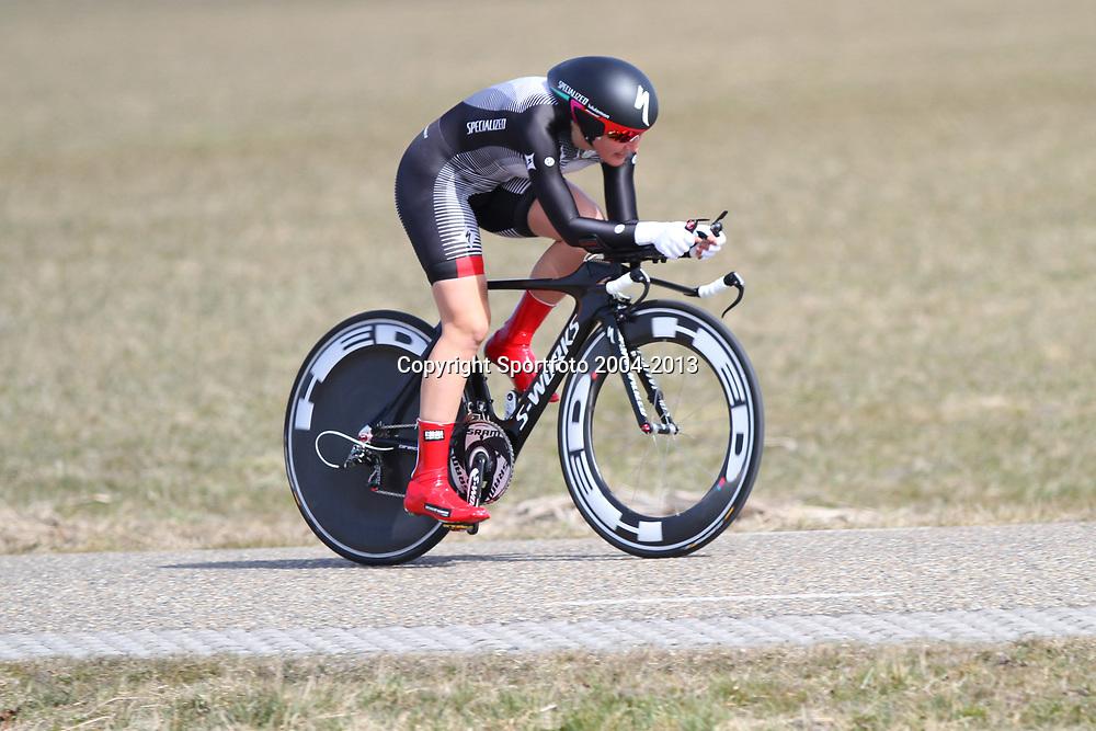 Energieswacht Tour stage 3 Winsum Lisa  Brennauer  2nd in the ITT