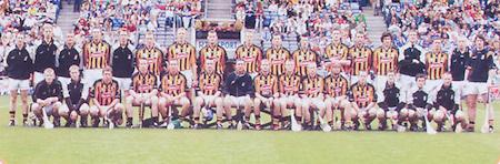 All Ireland Senior Hurling Championship Final,.03.09.2006, 09.03.2006, 3rd September 2006,.Senior Kilkenny 1-16, Cork 1-13,.Minor Tipperary 2-18, Galway 2-7.3092006AISHCF,.Kilkenny, back row, Willie O'Dwyer, Brian Hogan, Stephen Maher, Peter Cleere, Seaghan O'Neill, Noel Hickey, James Ryall, Henry Shefflin, Derek Lyng, Michael Rice, Martin Comerford, PJ Delane, Donnacha Cody, Sean Cummins,  Richie Mullally, Richard O'NEill, Austin Murphy, Front row, Richie Power, John Dalton, Michael Fennelly, John Tennyson, Eddie Brennan, Eoin Larkin, James McGarry, JJ Delaney, Aidan Fogarty, James Cha Fitzpatrick, Tommy Walsh, Michael Kavanagh, Eoin Reid, Eoin McCormack, PJ Ryan,