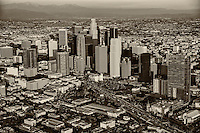 Downtown Los Angeles & San Gabriel Mountains