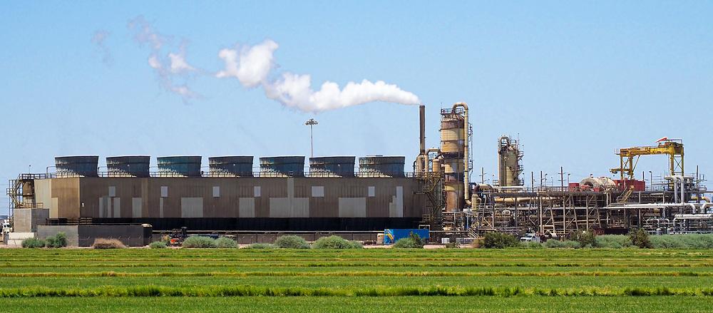 Geothermal Plant at Salton Sea
