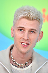 Machine Gun Kelly attends Nickelodeon's 2019 Kids' Choice Awards at Galen Center on March 23, 2019 in Los Angeles, CA, USA. Photo by Lionel Hahn/ABACAPRESS.COM