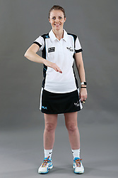 Umpire Julie Wilks signalling incorrect entry to area