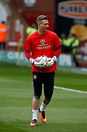 Simon Moore of Sheffield Utd during the English League One match at Bramall Lane Stadium, Sheffield. Picture date: April 17th 2017. Pic credit should read: Simon Bellis/Sportimage