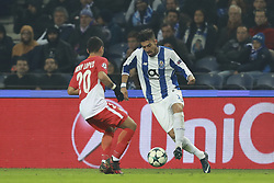 December 6, 2017 - Na - Porto, 06/12/2017 - Football Club of Porto received, this evening, AS Monaco FC in the match of the 6th Match of Group G, Champions League 2017/18, in Estádio do Dragão. Rony Lopes; Alex Telles  (Credit Image: © Atlantico Press via ZUMA Wire)