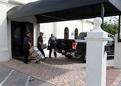 March 1, 2017 - Florida, U.S. - The Palm Beach County Sober Home Task force conducted a raid at Palm Beach Recovery & Wellness, a drug treatment center at 6600 S. Dixie Highway in West Palm Beach, Wednesday, March 1, 2017. (Credit Image: © Bruce R. Bennett/The Palm Beach Post via ZUMA Wire)