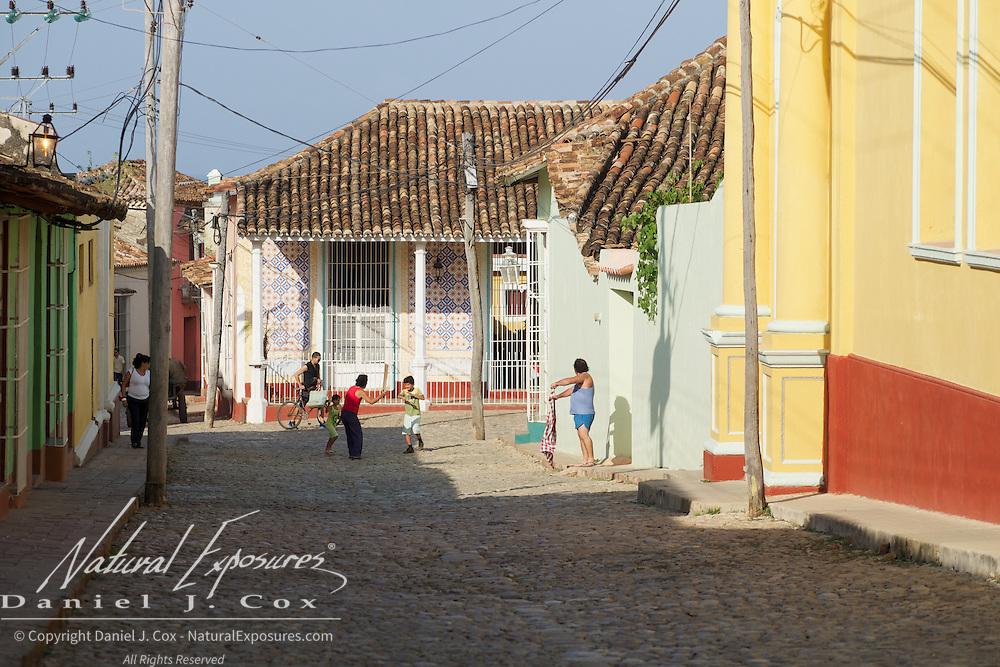 Street scenes, Trinidad, Cuba.