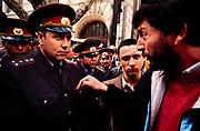 In a political turnaround, residents of Soviet Georgia begin to question the authority of police. 1990