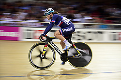 October 21, 2018 - St Quentin En Yvelines, France - Pascale Jeuland (Fra)  - Omnium femmes - course Scratch. (Credit Image: © Panoramic via ZUMA Press)