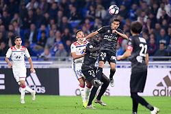 October 19, 2018 - Lyon, France - 20 MARCAL (OL) - 22 SADA THIOUB (NIM) - 29 SOFIANE ALAKOUCH  (Credit Image: © Panoramic via ZUMA Press)