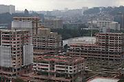 Sao Paulo_SP, Brasil...Construcao civil em Santo Amaro, Sao Paulo...Civil construction in Santo Amaro, Sao Paulo...Foto:  VICTOR SCHWANER / NITRO