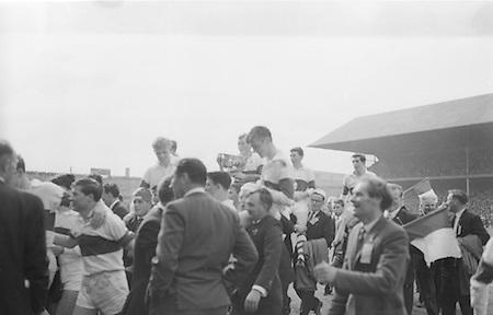 GAA All Ireland Minor Football Final Kerry v. Derry 26th September 1965 Croke Park..26.9.1965  26th September 1965