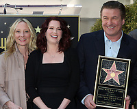2/14/2011 Anne Heche and Megan Mullally join Alex Baldwin at his Hollywood Walk of Fame ceremony