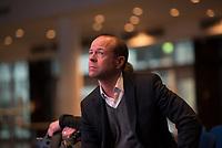DEU, Deutschland, Germany, Berlin, 15.12.2015: Anschutz-Geschäftsführer Michael Hapka in der Mercedes-Benz-Arena bei einer Bezirkstour des Berliner Senats in Friedrichshain-Kreuzberg.