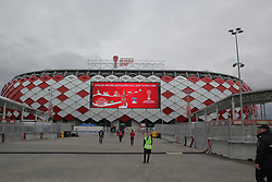 June 25, 2017 - Moscow, Russia - Of The Russian Federation. Moscow. Football. The FIFA Confederations Cup 2017. Chile  Australia. Spartak stadium, OTKRITIE arena. The final match of the group stage group b team Player. (Credit Image: © Russian Look via ZUMA Wire)