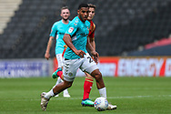 Forest Green Rovers Reuben Reid(26) runs forward during the EFL Sky Bet League 2 match between Milton Keynes Dons and Forest Green Rovers at stadium:mk, Milton Keynes, England on 15 September 2018.