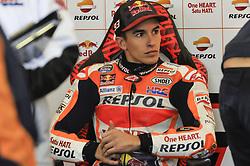 November 14, 2017 - Cheste, Spain - Marc Marquez (Repsol Honda Team) during Motogp test day at Valencia circuit (Credit Image: © Gaetano Piazzolla/Pacific Press via ZUMA Wire)