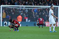 Football - 2019 / 2020 Premier League - AFC Bournemouth vs. Chelsea<br /> <br /> A dejected Philip Billing and Steve Cook after the final whistle as Bournemouth can only draw with Chelsea at the Vitality Stadium (Dean Court) Bournemouth <br /> <br /> COLORSPORT/SHAUN BOGGUST