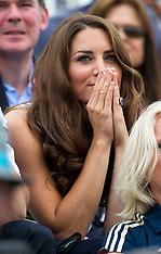 Royals at London 2012 Olympics 31-7-12