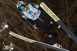 February 7, 2019 - Ljubno, Savinjska, Slovenia - Maja Vtic of Slovenia competes on qualification day of the FIS Ski Jumping World Cup Ladies Ljubno on February 7, 2019 in Ljubno, Slovenia. (Credit Image: © Rok Rakun/Pacific Press via ZUMA Wire)