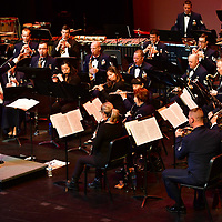 Air Force Band at Las Positas College March 13, 2017.
