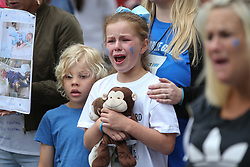Charlie's Army supporters upset over the news that Charlie Gard's parents have decided to end the treatment for their son. 24 Jul 2017 Pictured: Charlie Gard. Photo credit: MEGA TheMegaAgency.com +1 888 505 6342