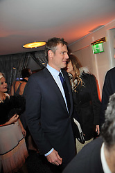 ZAC GOLDSMITH at Quintessentially's 10th birthday party held at The Savoy Hotel, London on 13th December 2010.