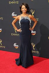 Angel Parker  bei der Verleihung der 68. Primetime Emmy Awards in Los Angeles / 180916<br /> <br /> *** 68th Primetime Emmy Awards in Los Angeles, California on September 18th, 2016***