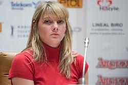 Slavica Madic at Elections for Alpine Ski president of Slovenian Ski Federation, on April 7, 2010, in Ljubljana, Slovenia.  (Photo by Vid Ponikvar / Sportida)