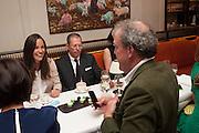 Vanity Fair Lunch hosted by Graydon Carter. 34 Grosvenor Sq. London. 14 May 2013