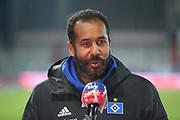 Fussball: 2. Bundesliga, FC St. Pauli - Hamburger SV, Hamburg, 01.03.2021<br /> HSV-Trainer Daniel Thioune<br /> © Torsten Helmke