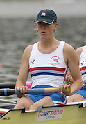 2005 Under 23's, Bosbaan Rowing Course, Amsterdam, NETHERLANDS. GBR BW4- Bow. Jo Cook, Louisa Reeve, Lucinda Gooderham and Ann Allin.   22.07.2005 .© Peter Spurrier. .email images@intersport-images..[Mandatory Credit Peter Spurrier/ Intersport Images]