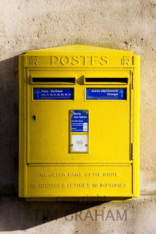 Wall Mounted Post-Box, Paris, France