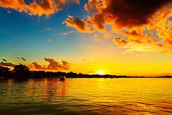 Another deep golden sunset along Lake Minnetonka