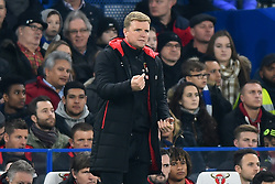 December 20, 2017 - London, England, United Kingdom - Bournemouth Manager Eddie Howe during the Carabao Cup Quarter - Final match between Chelsea and AFC Bournemouth at Stamford Bridge, London, England on 20 Dec 2017. (Credit Image: © Kieran Galvin/NurPhoto via ZUMA Press)
