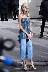 Soo Joo Park attending the Chanel show as part of the Paris Fashion Week Womenswear Fall/Winter 2018/2019 in Paris, France on March 06, 2018. Photo by Aurore Marechal/ABACAPRESS.COM